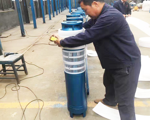 submersible bore hole pump
