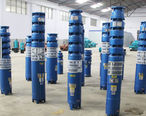 submersible irrigation well pump