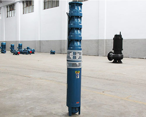 multistage water submersible pump
