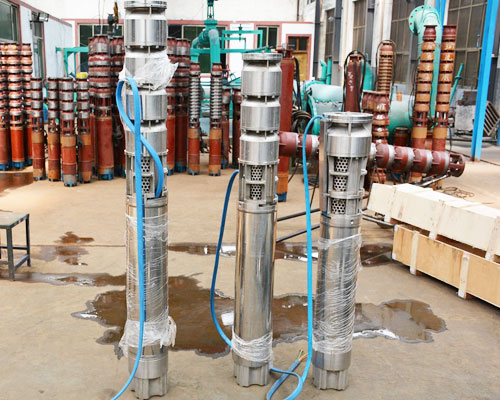 submersible single stage water pumps catelogue