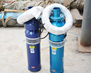 submersible single impeller water pump