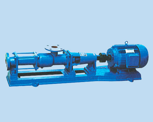 single screw pumps working