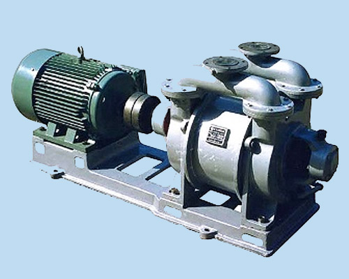 liquid ring vacuum pumps principle