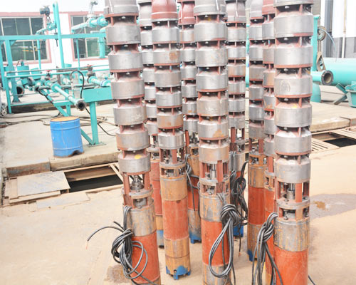 submersible high pressure water pump