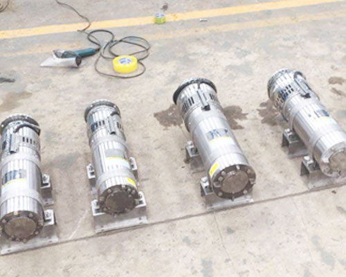 1hp submersible pump current