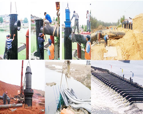 submersible axial flow pumps uses