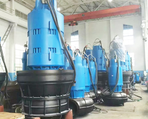 axial flow submersible pump types