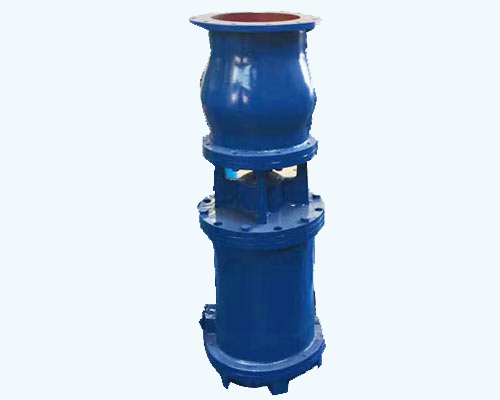 Mixed flow submersible water pump