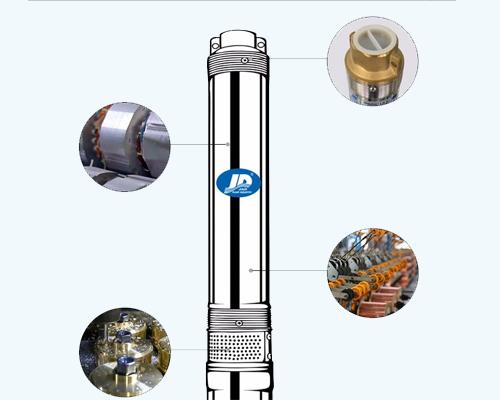 submersible motor pump set