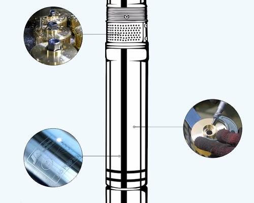 submersible motor pump design