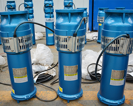 Cast iron fountain submersible pump