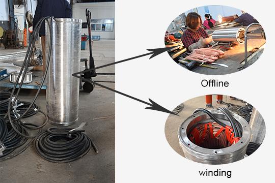 stainless steel submersible pump motor