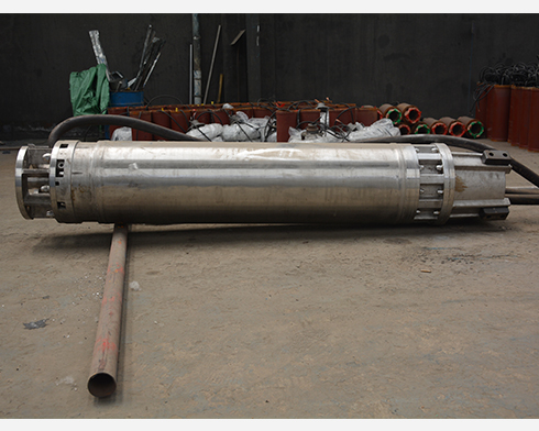 stainless steel submersible pump of motor