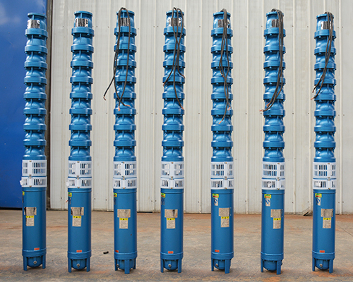High lift head submersible pumps