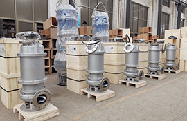 30kw stainless steel sewage pump factory