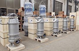 30kw stainless steel sewage pump factory